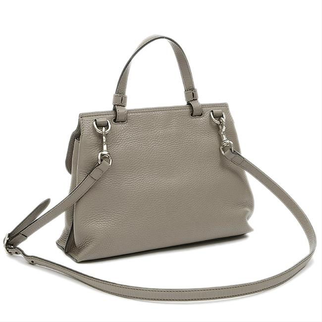 Item - Bamboo Daily 370831 Gray Leather Shoulder Bag