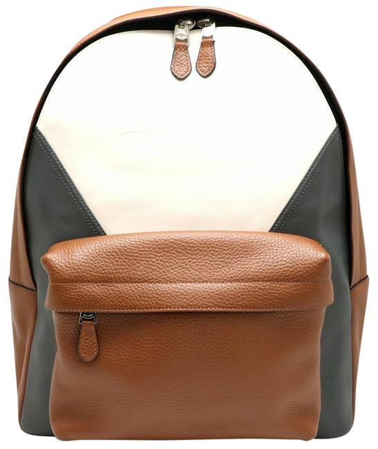 Item - Charles Patchwork Rucksack F57482 Brown / Gray / Ivory Leather Backpack