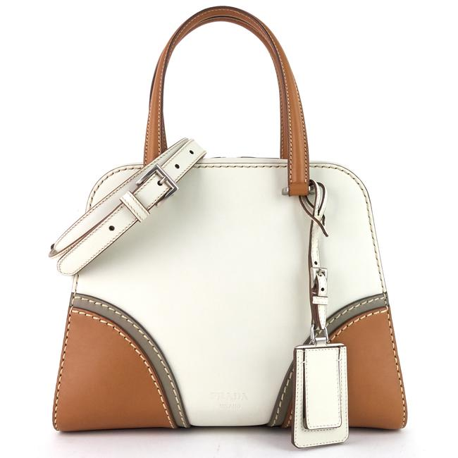 Item - Vitello Daino Satchel White Leather Tote