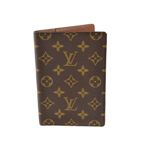 "Louis Vuitton Monogram ""LV"" & Leather Passport (vx)"