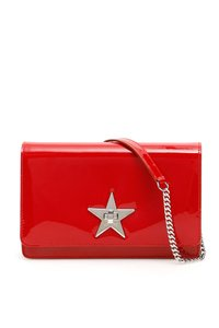 Jimmy Choo Palace Pat Rred Tote in Red