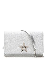 Jimmy Choo Palace Xgc Silv Tote in Silver