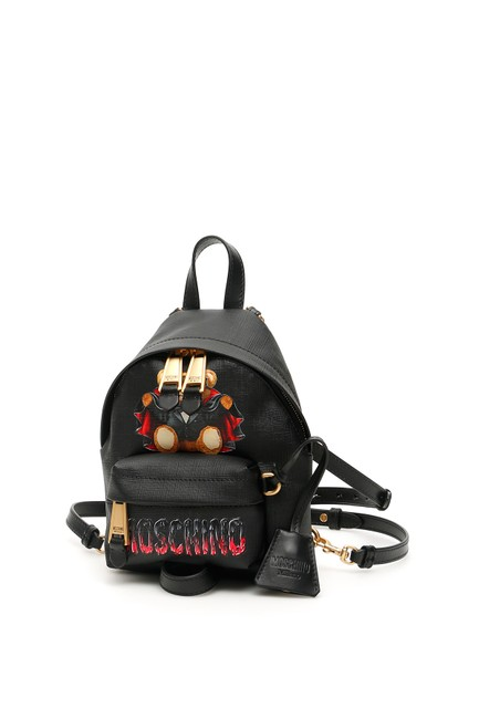 Item - Teddy Bear Mini Black Backpack