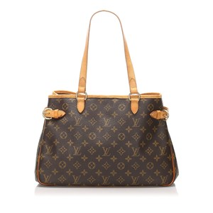 Louis Vuitton Bpj0flvsh025 Vintage Leather Tote in Brown