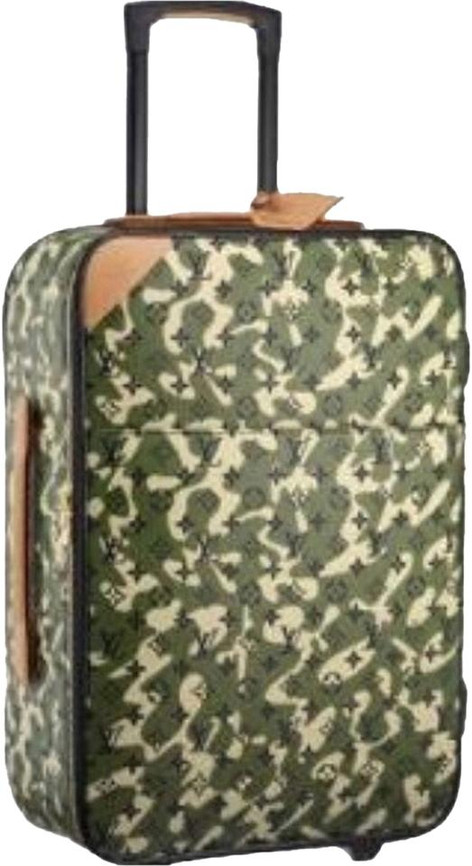25b00fb71cb8 Louis Vuitton +limited Edition Monogramouflage Pegase Rolling Suitcase  Cabin Size Carry-on Wheels Rolling ...
