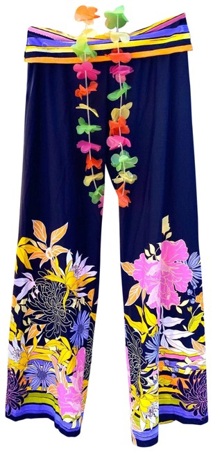 Item - Blue Multi XS Spa Collection Bal Harbour Pants Retail Cover-up/Sarong Size 2 (XS)