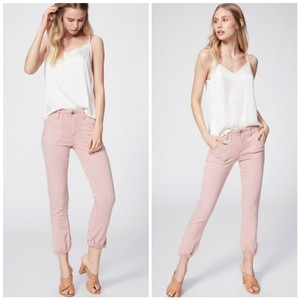 Paige Cargo Jeans-Light Wash