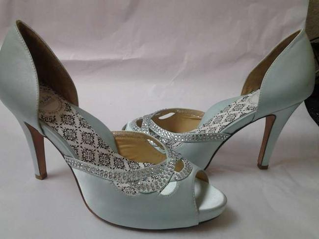 "Item - Robin's Egg Blue Girl W Knotty - 4"" Heel (W/ 1"" Platform) Pumps Size US 10"