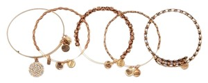 Alex and Ani Alex and Ani Snowflake Expandable Bangle Bracelet Set