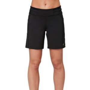 "asics ASICS Women's 7"" Knit Short Running Clothes WS3485 size M black."