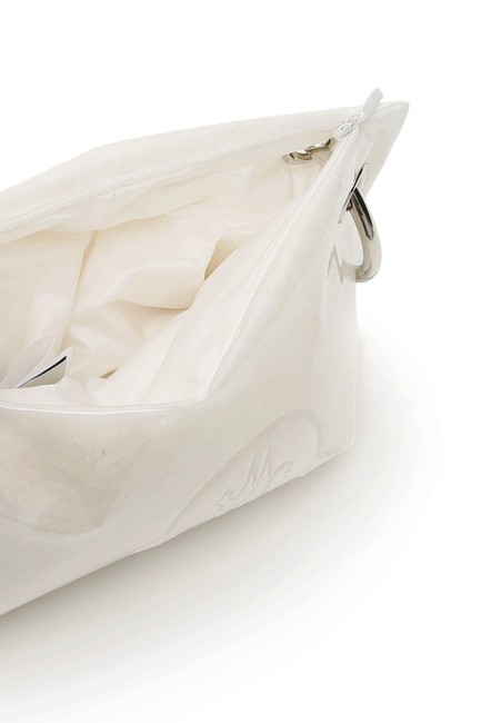 Moncler Basic Vanille Padded Pvc Pouch White Clutch Moncler Basic Vanille Padded Pvc Pouch White Clutch Image 2