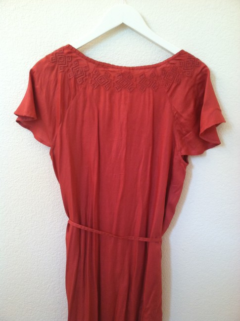 Joie short dress Coral Red on Tradesy