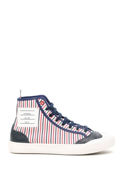 Item - Multicolored Hi-top Trainer Sneakers Size EU 37 (Approx. US 7) Regular (M, B)