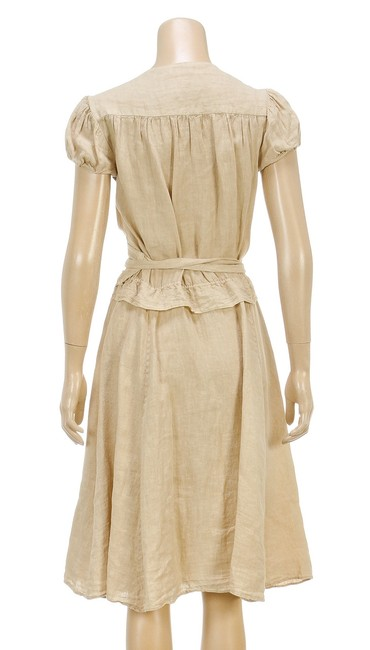 Calypso short dress Cream on Tradesy