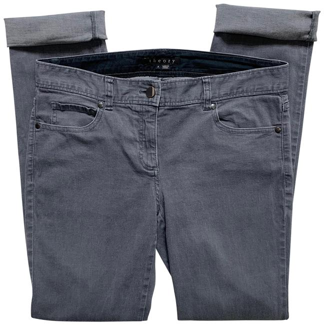 Item - Gray Medium Wash Mid Rise Jegging Skinny Jeans Size 8 (M, 29, 30)