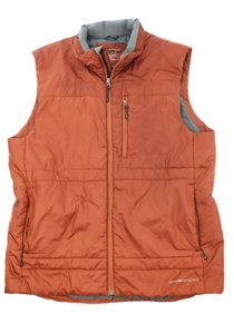 ExOfficio EXOFFICIO Orange Puffer Vest Size Large
