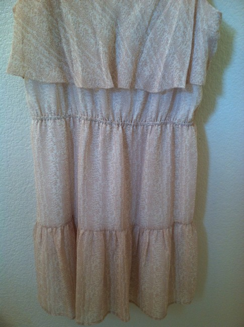 Joie short dress Pale Pink Cream on Tradesy
