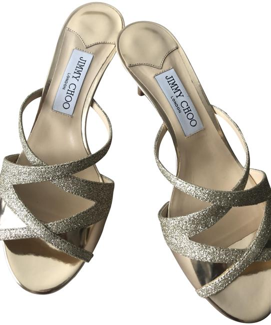 Item - Gold/Gold Metallic Women's Marty 65 Sandals Size EU 38 (Approx. US 8) Regular (M, B)