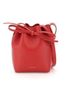 Mansur gavriel Hmm010ca Flamm Tote in Red