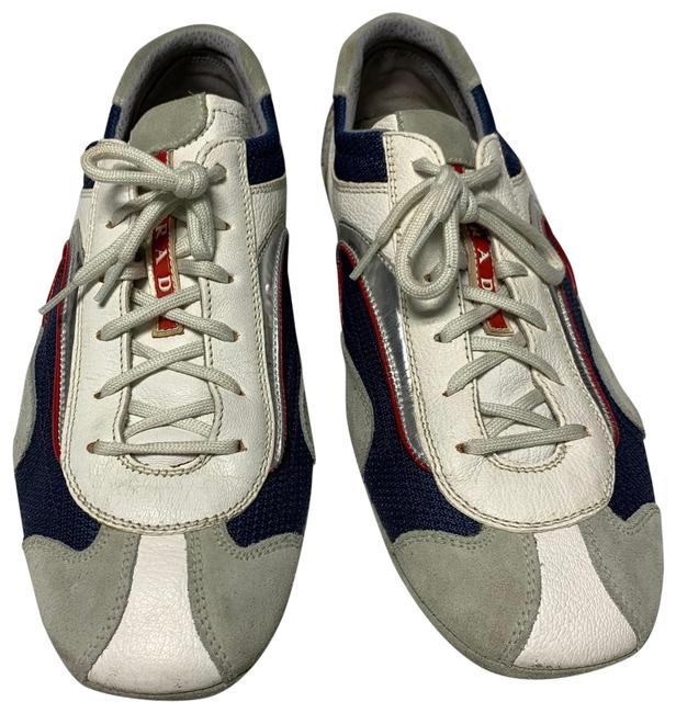 Item - Blue White and Gray (49) Sneakers Size US 9 Regular (M, B)