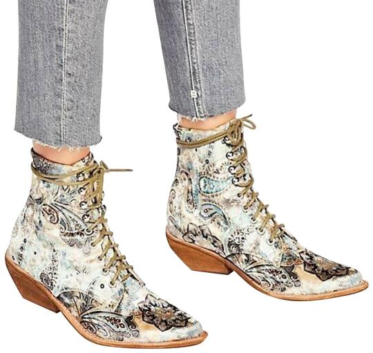 Jeffrey Campbell Multicolor X Free People Elmcroft Boots Booties Size Us 9 5 Regular M B Tradesy