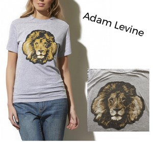 Adam Levine Collection T Shirt gray & brown