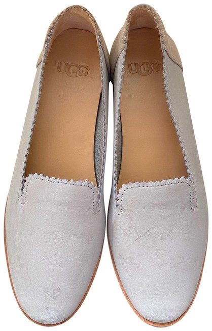 Item - Grey Vista Nubuck Slip-ons Flats Size US 5.5 Regular (M, B)