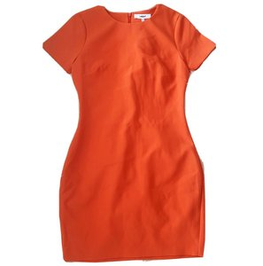 LIKELY short dress Orange on Tradesy