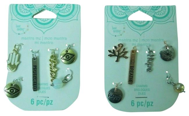 Item - Multi-color Jewelry Charm Set Of 12 Arts & Crafts- Believe Protected...