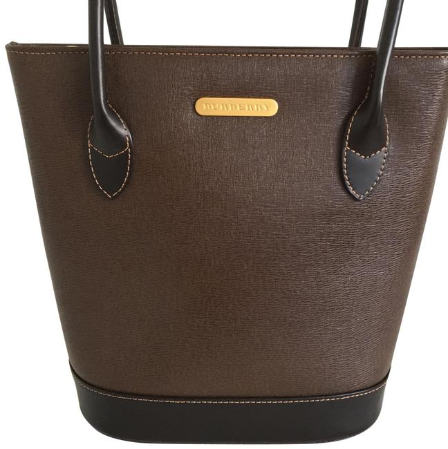 Item - Top Handle Two Brown Leather Tote