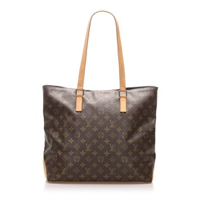 Louis Vuitton Bpj0flvsh020 Vintage Leather Tote in Brown