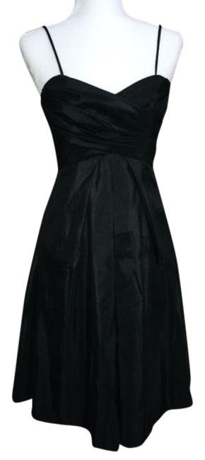 Item - Black Style 628 Mid-length Cocktail Dress Size 4 (S)