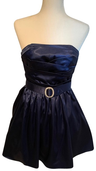 Item - Navy Blue /Party / Prom Short Cocktail Dress Size 2 (XS)