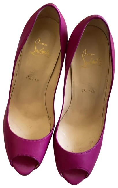 Item - Rasberry / Purple Platforms Size EU 39.5 (Approx. US 9.5) Regular (M, B)
