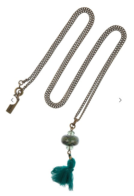 Item - Jade Yeah Right and Silk Necklace