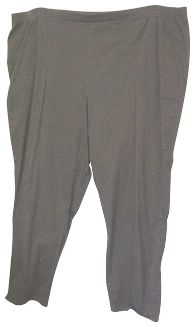 Item - Green Classic Stretch Elastic Waistband Pull-on 4x Pants Size 28 (Plus 3x)