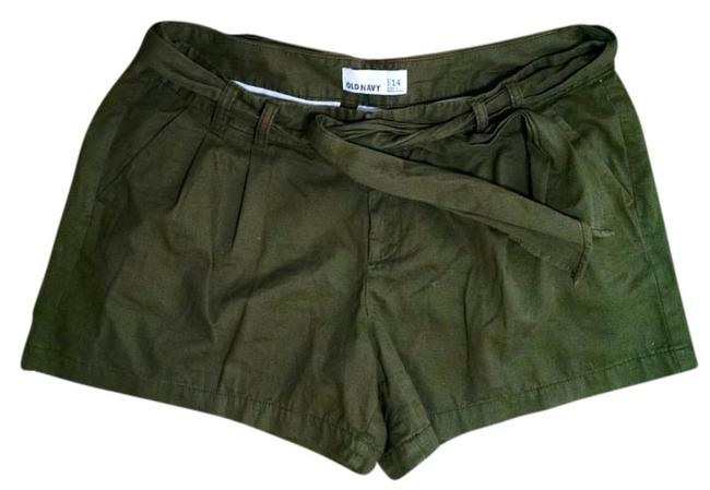 Old Navy Size 14 P1385 Summersale Mini/Short Shorts olive green