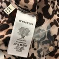 Whistles Tan Brown Esme Wrap Front Shirt Leopard Print Mid-length Work/Office Dress Size 4 (S) Whistles Tan Brown Esme Wrap Front Shirt Leopard Print Mid-length Work/Office Dress Size 4 (S) Image 9