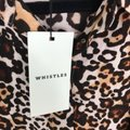 Whistles Tan Brown Esme Wrap Front Shirt Leopard Print Mid-length Work/Office Dress Size 4 (S) Whistles Tan Brown Esme Wrap Front Shirt Leopard Print Mid-length Work/Office Dress Size 4 (S) Image 10