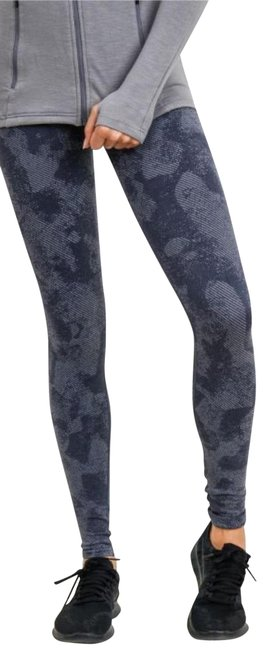 Item - Gray M Aph2686 High Rise Camouflage Seamless Yoga Activewear Bottoms Size 8 (M, 29, 30)