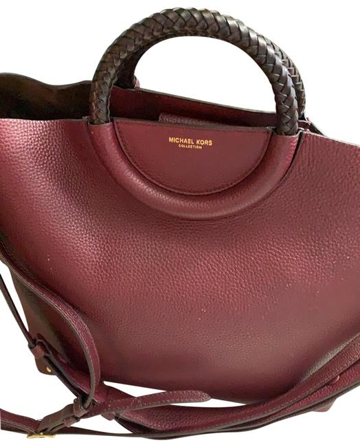 Item - Red Leather Satchel