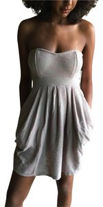 Free People short dress Champagne on Tradesy