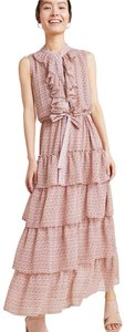 MISA Los Angeles Ruffle Floral Dress