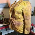 The People Of The Labyrinths Mustard Hombre Cotton Jacket Blazer Size 4 (S) The People Of The Labyrinths Mustard Hombre Cotton Jacket Blazer Size 4 (S) Image 12