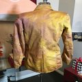 The People Of The Labyrinths Mustard Hombre Cotton Jacket Blazer Size 4 (S) The People Of The Labyrinths Mustard Hombre Cotton Jacket Blazer Size 4 (S) Image 4