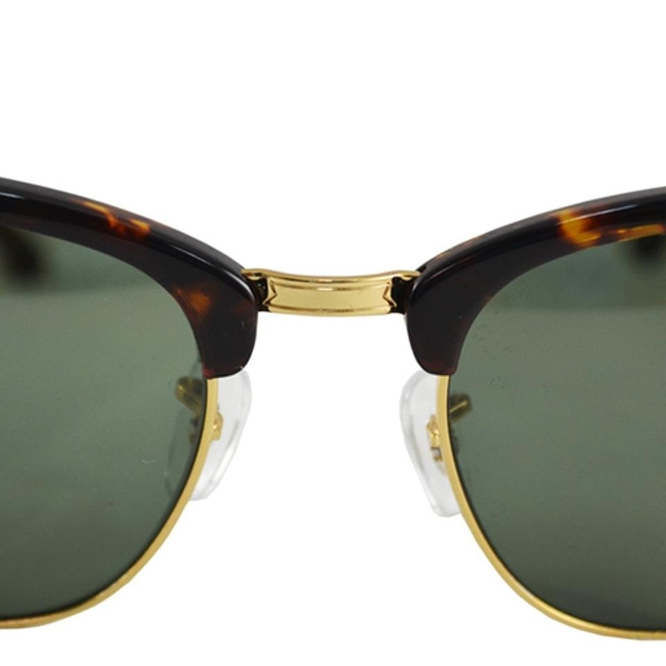 88d15058c5 Ray-Ban G-15 Dark Green Lens with Tortoise Frame Clubmaster Rb3016 W0366  Size 51mm Sunglasses - Tradesy