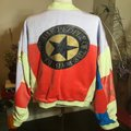 The People Of The Labyrinths Orange Star Bomber Jacket Size 16 (XL, Plus 0x) The People Of The Labyrinths Orange Star Bomber Jacket Size 16 (XL, Plus 0x) Image 6