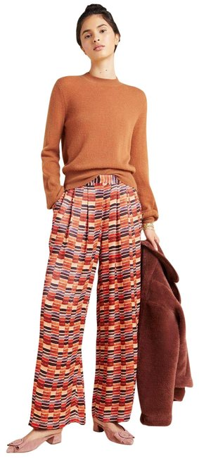 Item - New Multicolor Conditions Apply Nell High-rise Geometric Breezy Trousers Pants Size 6 (S, 28)