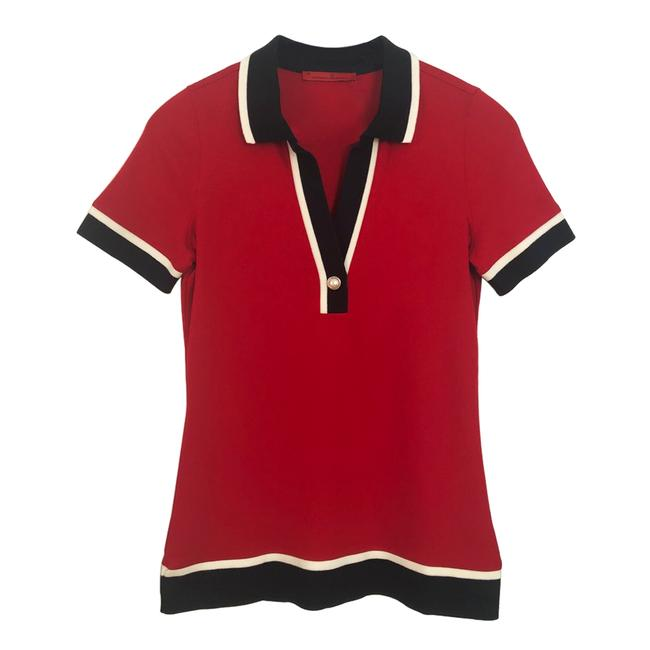 Item - Red Polo Tee Shirt Size 2 (XS)
