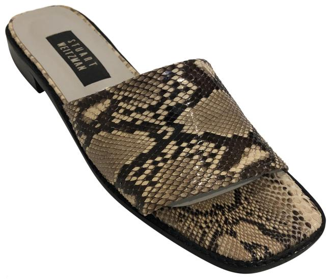Item - Roccia Python Swerve Sandals Size US 8 Narrow (Aa, N)